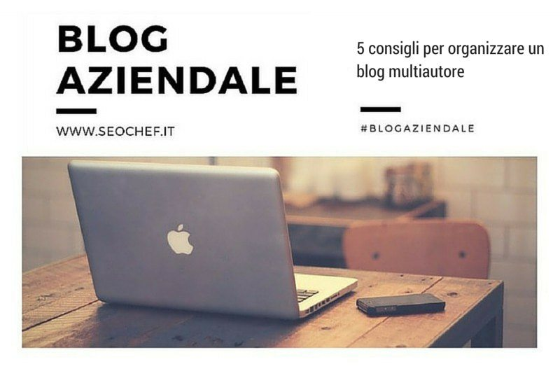 blog multiautore